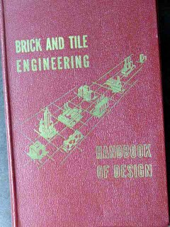 brick and tile engineering harry plummer mortar clay vintage book