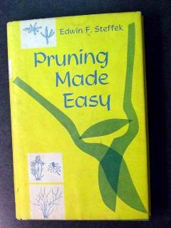 pruning made easy edwin steffek trees gardening vintage book