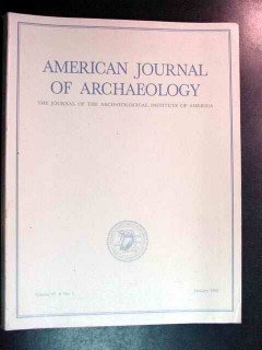 american journal of archaeology vol 97 jan 1993 no 1 magazine