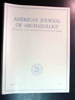 american journal of archaeology vol 97 july 1993 no 3 magazine