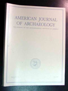 american journal of archaeology vol 98 july 1994 no 3 magazine