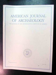 american journal of archaeology vol 95 july 1991 no 3 magazine