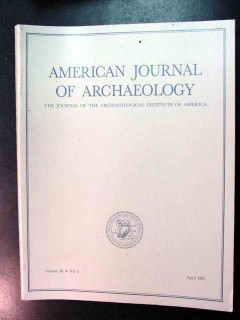 american journal of archaeology vol 96 april 1992 no 2 magazine