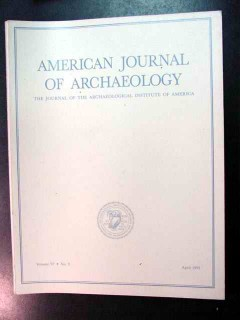 american journal of archaeology vol 97 april 1993 no 2 magazine