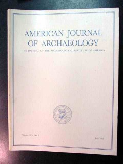 american journal of archaeology vol 96 july 1992 no 3 magazine