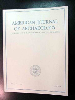 american journal of archaeology vol 98 oct 1994 no 4 magazine