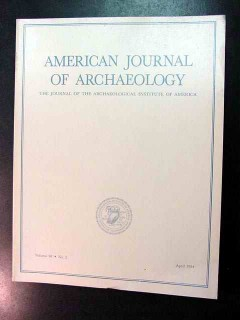 american journal of archaeology vol 98 april 1994 no 2 magazine