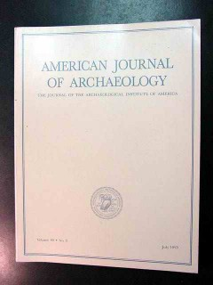 american journal of archaeology vol 99 july 1995 no 3 magazine