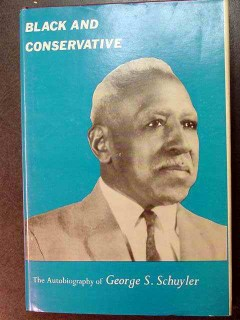 black and conservative george schuyler civil rights vintage book