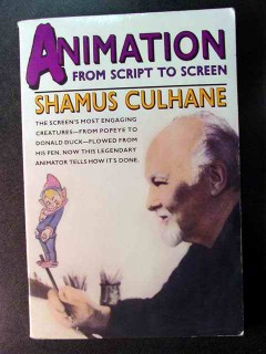 animation from script to screen by shamus culhane art book