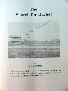 the search for rachel by zula plummer signed genealogy book