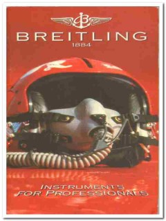 breitling instruments for professionals watch catalog book