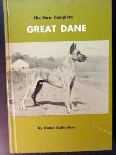 complete great dane history breed feed character illustrated dog book