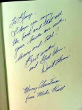 hunting trophy whitetails david morris mike pruitt signed book