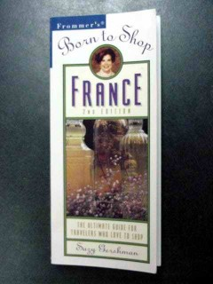 born to shop france frommers travel shopping guide book