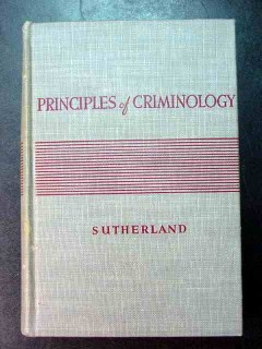 principles of criminology edwin sutherland crime vintage book