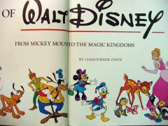 art of walt disney mickey mouse magic kingdom christopher finch book