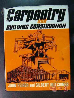 carpentry and building construction feirer hutchings book