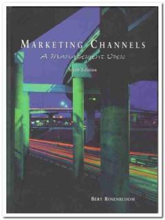 marketing channels management view bert rosenbloom book