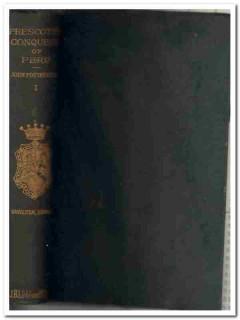 history of the conquest of peru william prescott vintage book