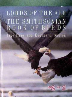 lords of the air - smithsonian book of birds by page and morton