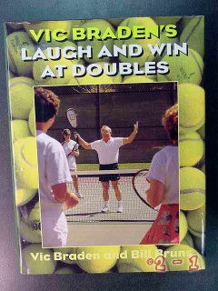 laugh and win at doubles vic braden bill bruns tennis book