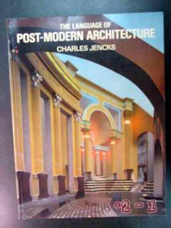 language of post modern architecture charles jencks design book