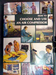 how to choose use an air compressor tools accessories book