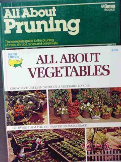 all about pruning trees vegetables south edition 2 books