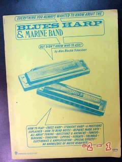 blues harp marine band alan blackie schackner harmonica music book