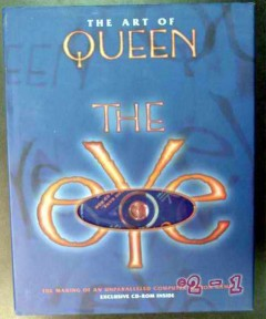 art of queen the eye with cd game rock music book