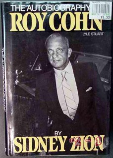 autobiography of roy cohn by sidney zion attorney book