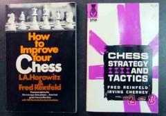 improve chess strategy tactics horowitz reinfeld 2 vintage books
