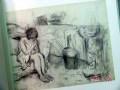 charcoal drawings 1880-1985 janie c lee gallery art book