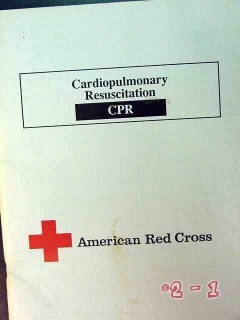 cardiopulmonary resuscitation american red cross cpr test book