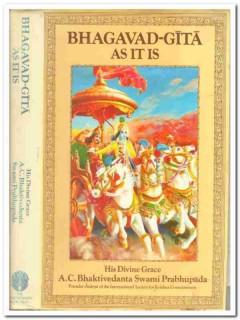 bghagavad-gita as it is swami prabhupada krishna india book