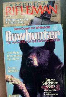 bowhunter american rifleman bows rifle 2 hunting magazines