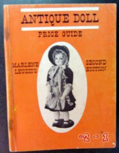 antique doll price guide marlene leuzzi bisque china book