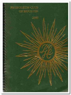 petroleum club of houston 2000 texas oil history book