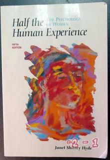psychology of women human sexuality lesbian janet hyde book
