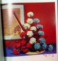 carnations elegance in floral arrangements flower vintage book