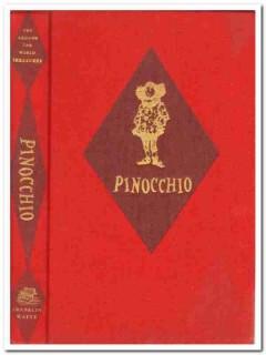 pinocchio around the world treasures italy carlo collodi vintage book