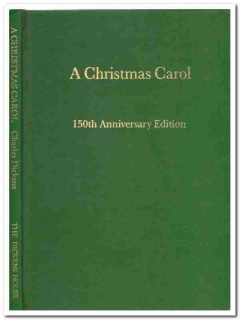 a christmas carol in prose 150th anniversary edition signed book
