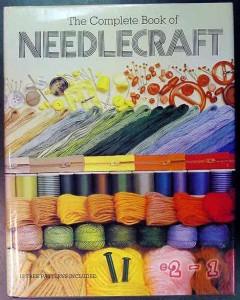 complete needlecraft patterns crochet knitting sewing book