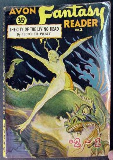 avon fantasy reader 2 the city of the living dead vintage book