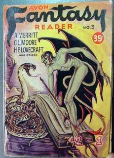 avon fantasy reader 3 by a merritt hp lovecraft vintage book