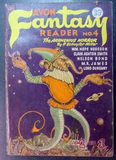 avon fantasy reader 4 the arrhenius horror vintage book