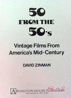 50 from the 50s vintage films america mid century david zinman book