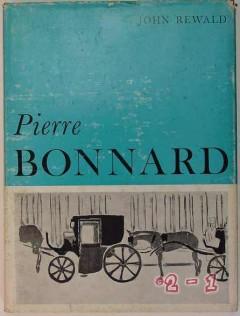 pierre bonnard john rewald paintings drawings watercolors art book