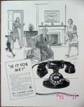 bell telephone system 1940 western elctric is it for me vintage ad